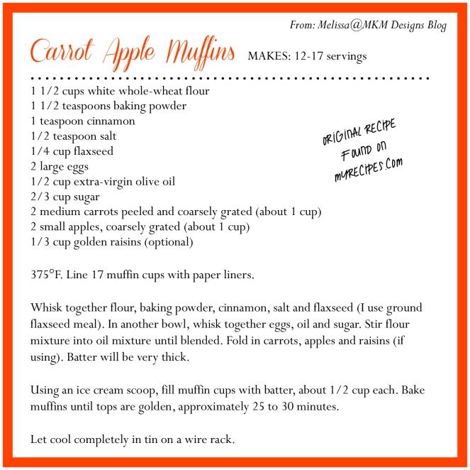 Carrot Apple Muffin