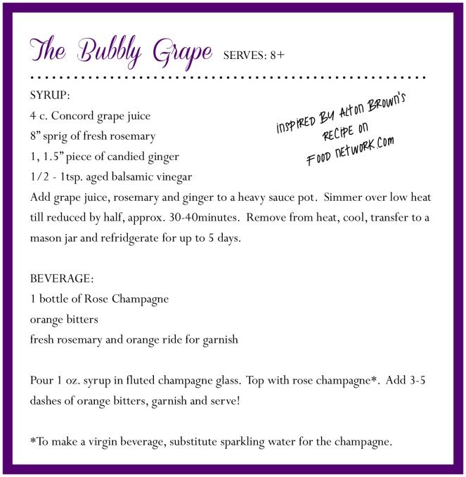 bubbly grape